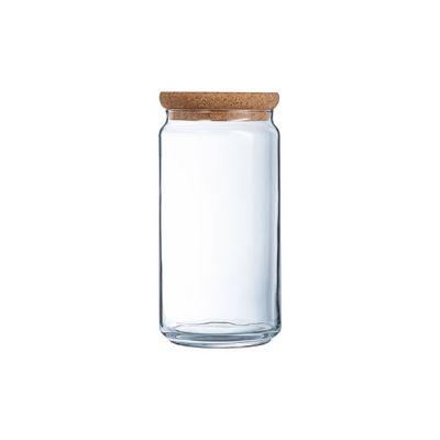 Luminarc Pure Jar Vorratstopf 1,5l Lid Cork
