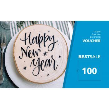 BestSale Shop Gutschein €25 – €500 / Happy New Year