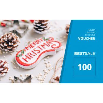 BestSale Shop Gutschein €25 – €500 / X-Mas
