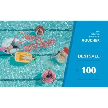 BestSale Shop Gutschein €25 – €500 / Birthday Pool