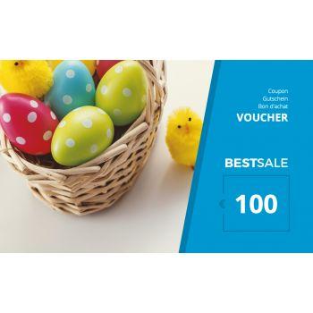 BestSale Shop Gutschein €25 – €500 / Easter