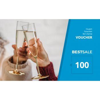 BestSale Shop Gutschein €25 – €500 / Congratulation
