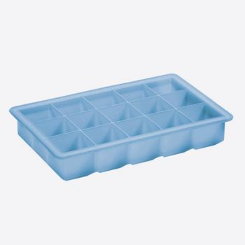 Lurch ice cube tray small cube ice blue 3x3cm