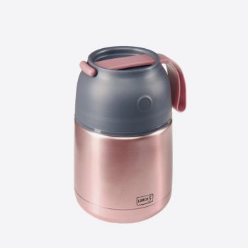 Lurch Iso-Pot double-walled stainless steel vacuum food container rose-mettalic 450ml