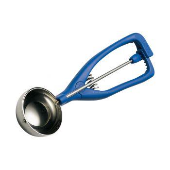 Stöckel Ice portioning spoon K - Ø80mm - 1/8Ltr - Blue