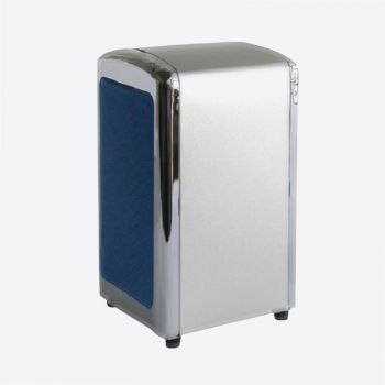 25+ napkins dispenser silver