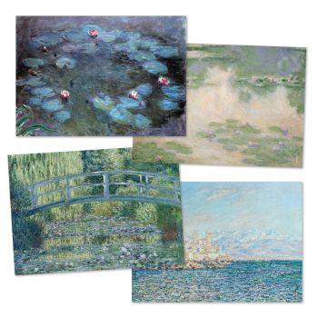 Paper placemat - Monet