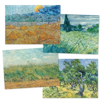 Paper placemat - Van Gogh
