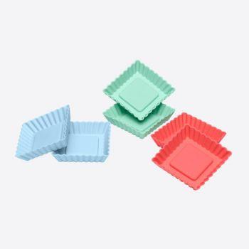 Lurch Flexiform Flan Mini Squared 6 pcs