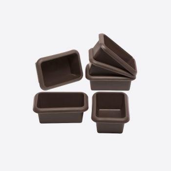Lurch Flexiform silicone set of 6 mini breads 11x7.5cm