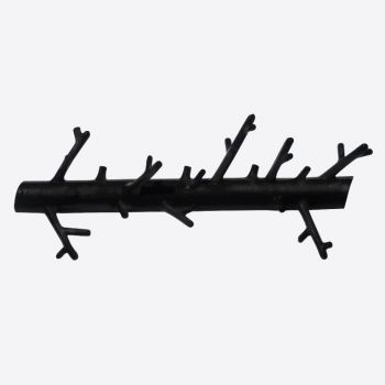 Bosign Branch metal hanger satin black 31x5x12cm