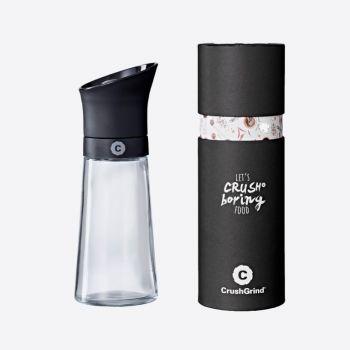 Crushgrind Kala plastic and glass spice grinder black 17cm
