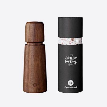 Crushgrind Stockholm walnut pepper or salt grinder brown 16.8cm
