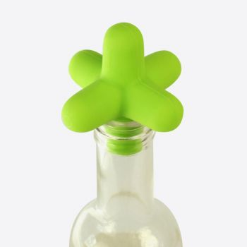 Cookut Spark silicone bottle stopper green 5x5x5cm