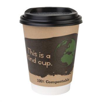 Fiesta Green composteerbare deksels voor 34cl koffiebekers (50 stuks)