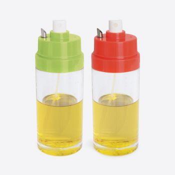 Dotz oil vaporiser with pourer red or green 150ml (8pcs/disp.)