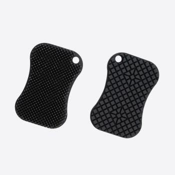 Dotz silicone sponge dark grey 12x8cm
