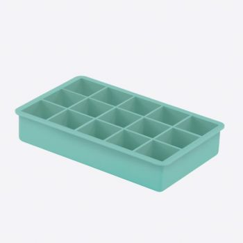Dotz silicone ice cube tray aqua blue 3.3x3.3x3.3cm