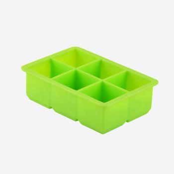Dotz silicone ice cube tray green 4.8x4.8x4.8cm