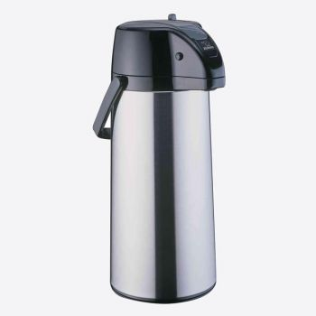 Zojirushi airpot with glass interior body satin stainless steel 2.2L