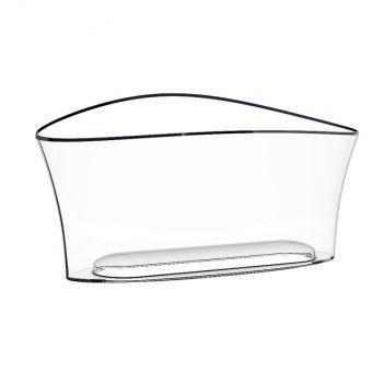 Italesse Vela Bucket acrylic wine cooler 20.7x28.8x27.1cm