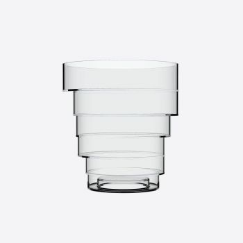 Italesse Solomon Bucket acrylic wine cooler transparent Ø 22cm H 23.8cm