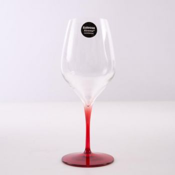 Italesse Vertical Medium set of 4 wine glasses rood 390ml