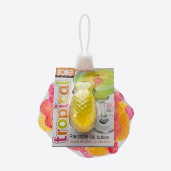 Joie Tropical set of 20 reusable icecubes flamingo and pineapple