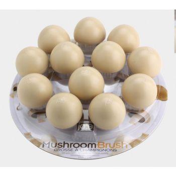 Joie mushroom brush in nylon Ø 5cm H 5cm (12pcs/disp.)