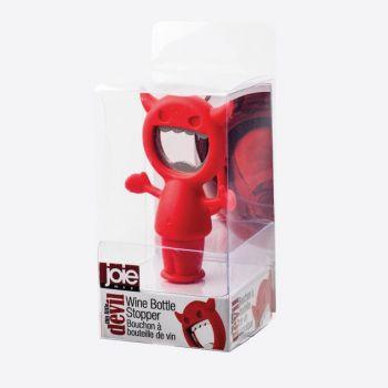 Joie Devil bottle opener/-stopper red