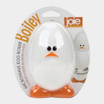 Joie Egghead individual egg boiler for microwave in plasticand aluminum white Ø 7.6cm H 12cm