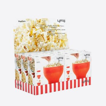 Lékué colapsable popcornmaker in silicone Ø 20cm H 14.5cm