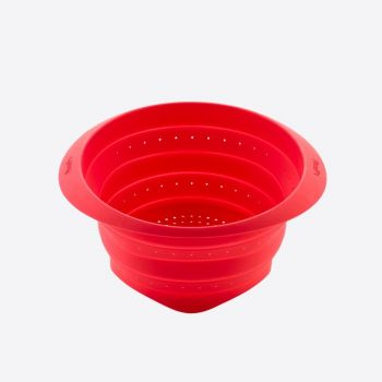 Lékué colapsable silicone strainer red Ø 23cm