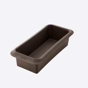 Lékué rectangular silicone baking mold brown 25x10x6cm