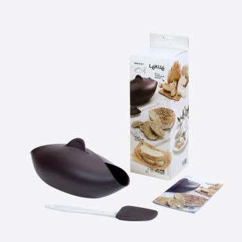 Lékué silicone bread maker with spatula 28x23x13cm