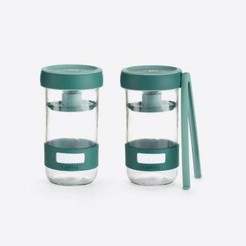 Lékué pickle kit fermentation set with 2 jars 700ml