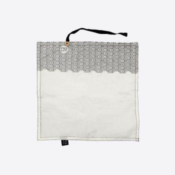 Nubento napkin in organic cotton Geometrical 30x30cm (per 6pcs)