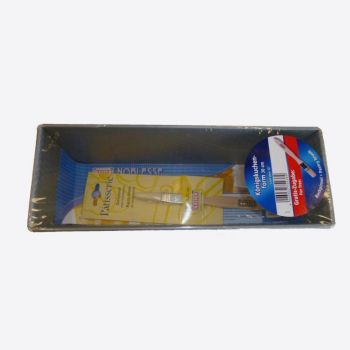 Kaiser promotion loaf pan 30cm & wooden pastry brush