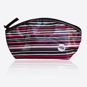 PointRose makeup bag stripes