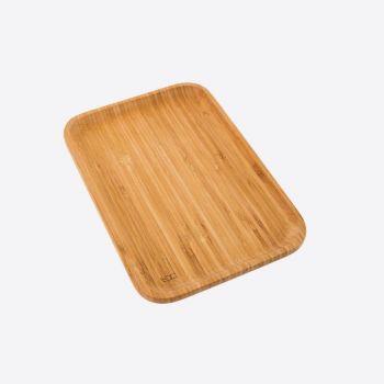 Point-Virgule bamboo serving tray medium 28x19x1.9cm