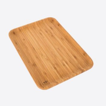 Point-Virgule bamboo serving tray large 35x24x1.9cm