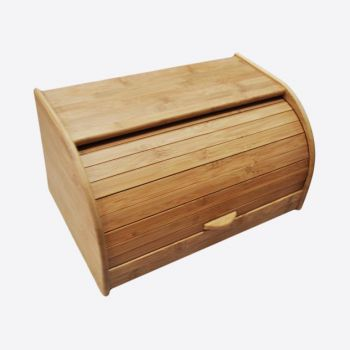 Point-Virgule bamboo bread box 40x26x20cm