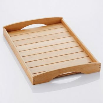 Point-Virgule bamboo serving tray 48x33x6cm