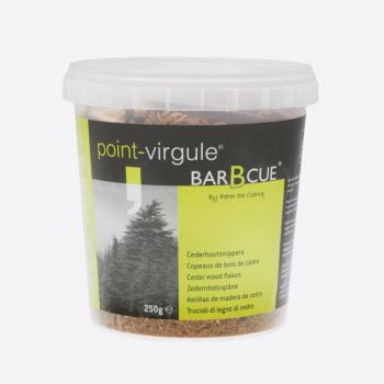 Point-Virgule cedar wood flakes 250g