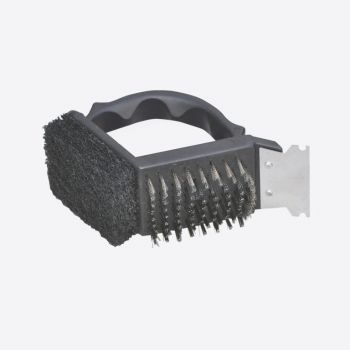 Point-Virgule barbecue cleaning brush 11.5x7x10cm