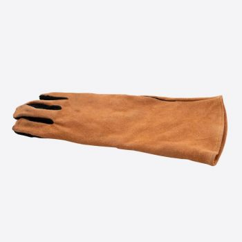 Point-Virgule barbecue glove right brown and black leather 42x20cm
