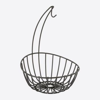 Point-Virgule Wire banana holder and fruit basket 23.5x32.5cm