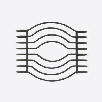 Point-Virgule Wire trivet black 18.5x15x3cm
