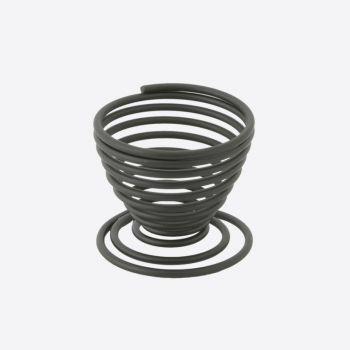 Point-Virgule Wire egg cup black 5x5x5cm (per 12pcs)