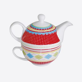 Point-Virgule tea for one with dots